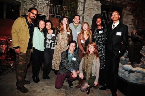 TCP 2011–2013 residents: Gyun Hur, Neda Abghari, Charlie Watts, Justin Rabideau, Nikki Starz, Jerushia Graham, Brandon Sadler, Andre Keichian, and Marcy Starz.