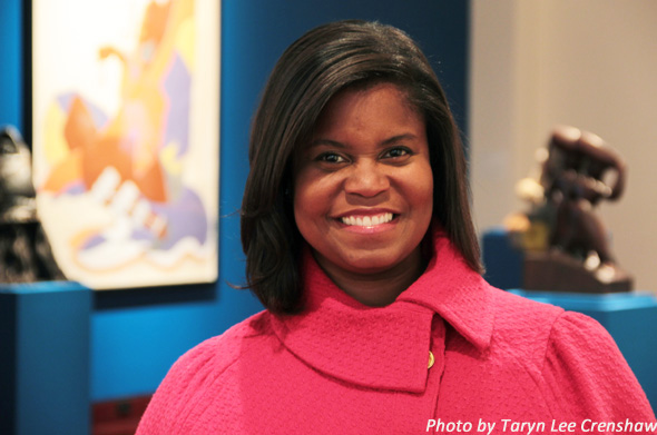 Andrea Barnwell Brownlee, director of the Spelman College Museum of Art. (Photo: Taryn Lee Crenshaw)