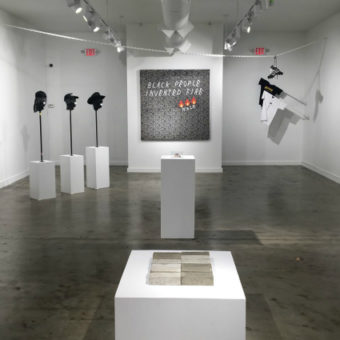 Pastiche Lumumba's Don't @ Me at the Gallery by WISH, Atlanta